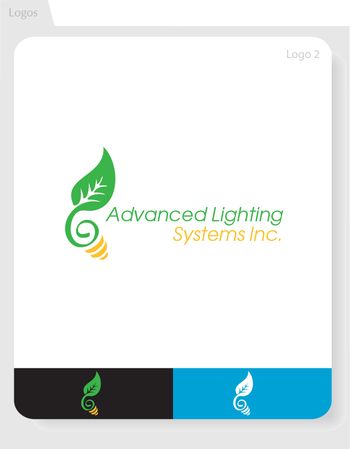 Logo Design by Moqeem Naqvi - Entry No. 163 in the Logo Design Contest New Logo Design Needed for  Company Advanced Lighting Systems Inc..