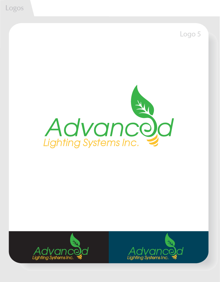 Logo Design by Moqeem Naqvi - Entry No. 166 in the Logo Design Contest New Logo Design Needed for  Company Advanced Lighting Systems Inc..