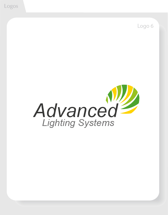 Logo Design by Moqeem Naqvi - Entry No. 167 in the Logo Design Contest New Logo Design Needed for  Company Advanced Lighting Systems Inc..