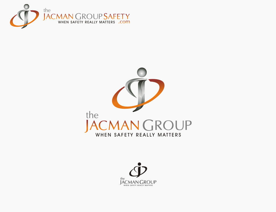 Logo Design by graphicleaf - Entry No. 72 in the Logo Design Contest The Jacman Group Logo Design.