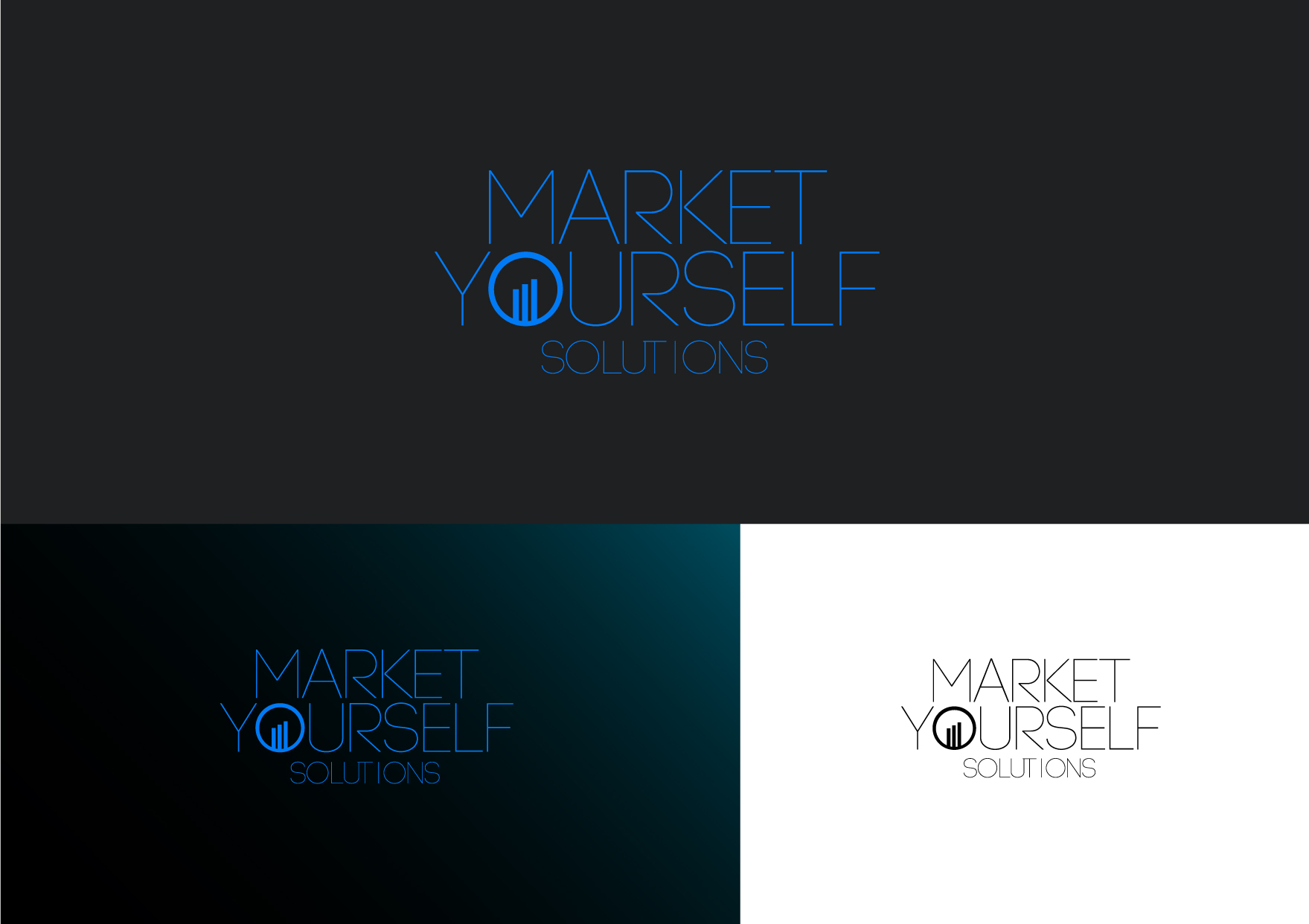 Logo Design by Osi Indra - Entry No. 50 in the Logo Design Contest Fun Logo Design for Market Yourself Solutions.