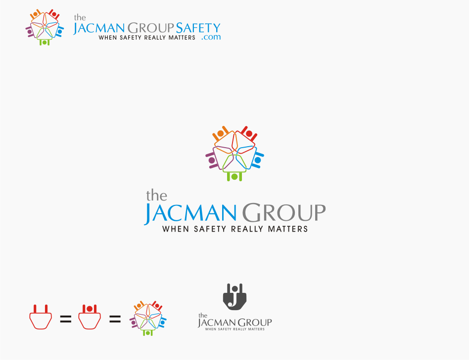 Logo Design by graphicleaf - Entry No. 73 in the Logo Design Contest The Jacman Group Logo Design.