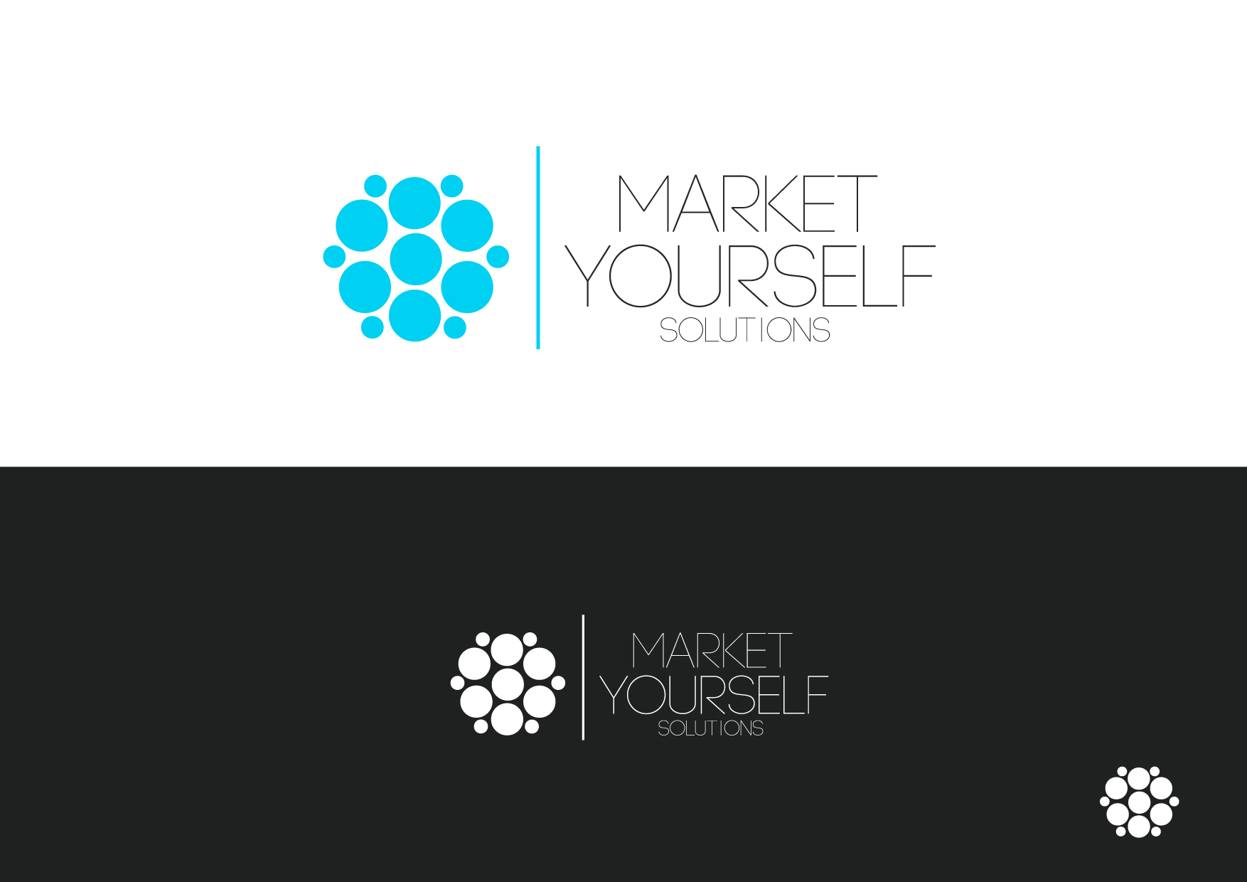 Logo Design by Osi Indra - Entry No. 55 in the Logo Design Contest Fun Logo Design for Market Yourself Solutions.