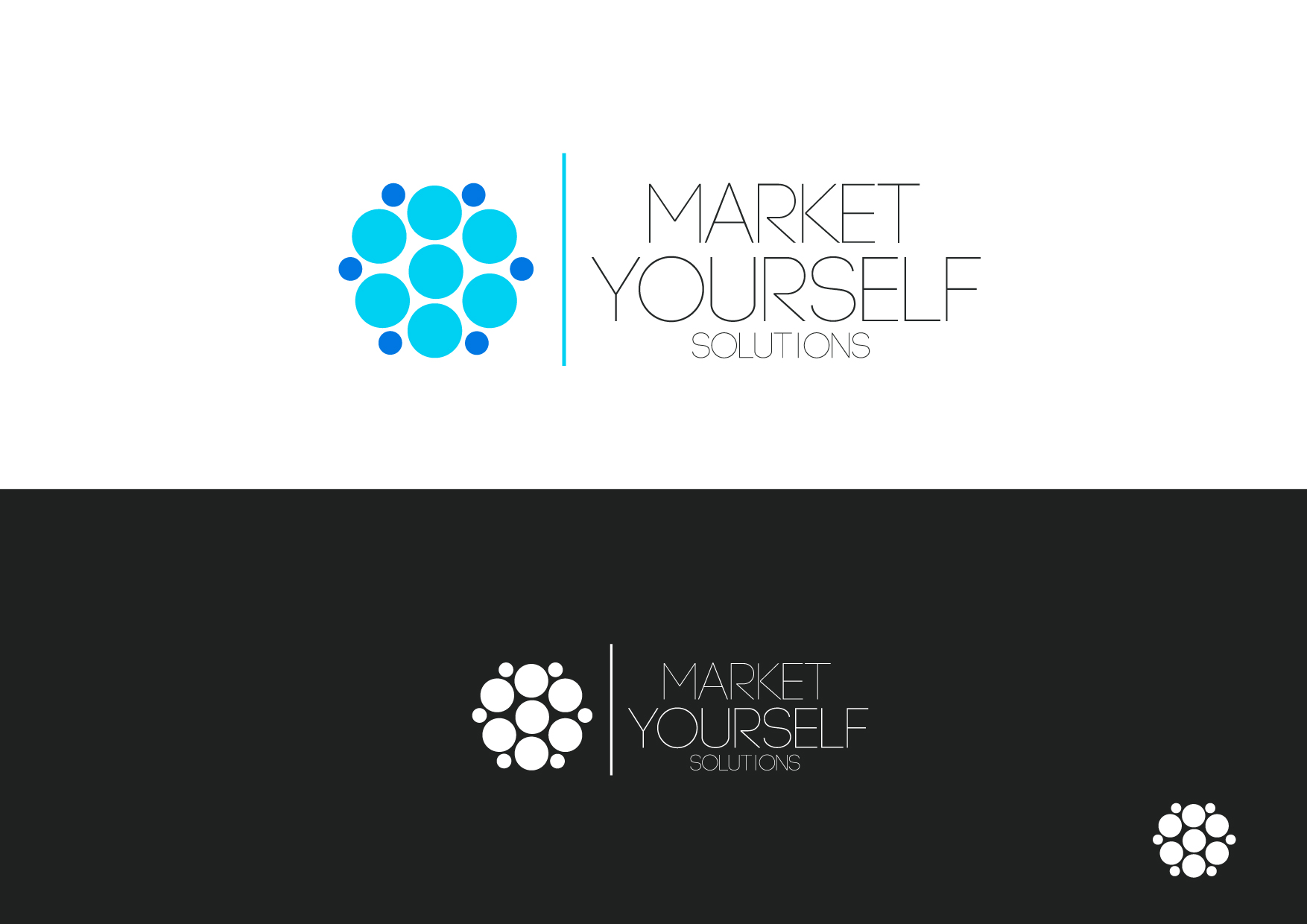 Logo Design by Osi Indra - Entry No. 56 in the Logo Design Contest Fun Logo Design for Market Yourself Solutions.