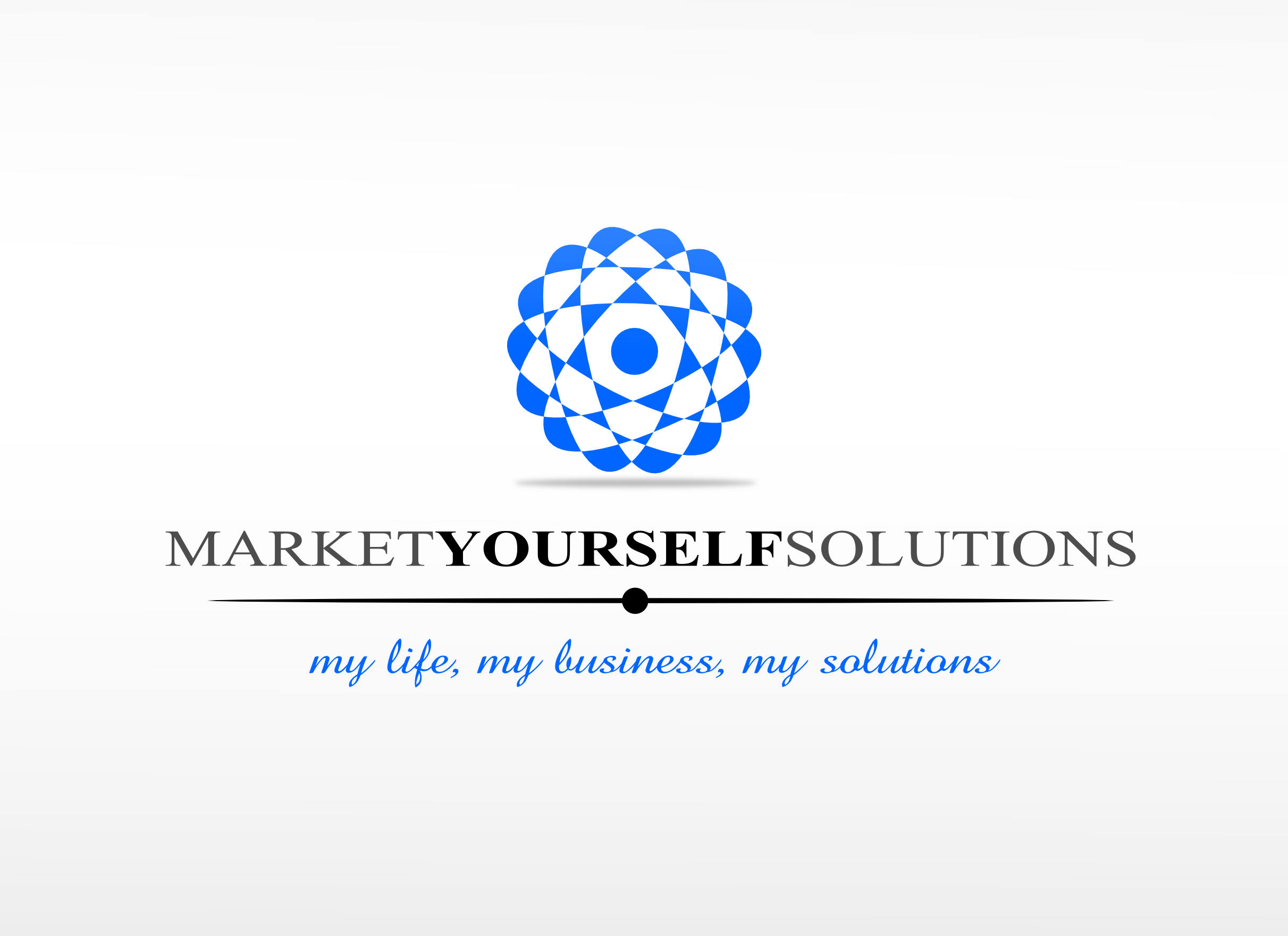 Logo Design by whoosef - Entry No. 57 in the Logo Design Contest Fun Logo Design for Market Yourself Solutions.