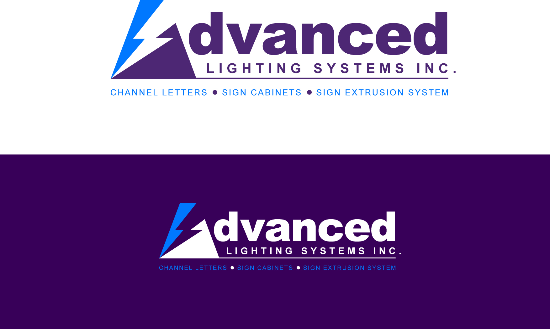 Logo Design by Wilfredo Mendoza - Entry No. 170 in the Logo Design Contest New Logo Design Needed for  Company Advanced Lighting Systems Inc..