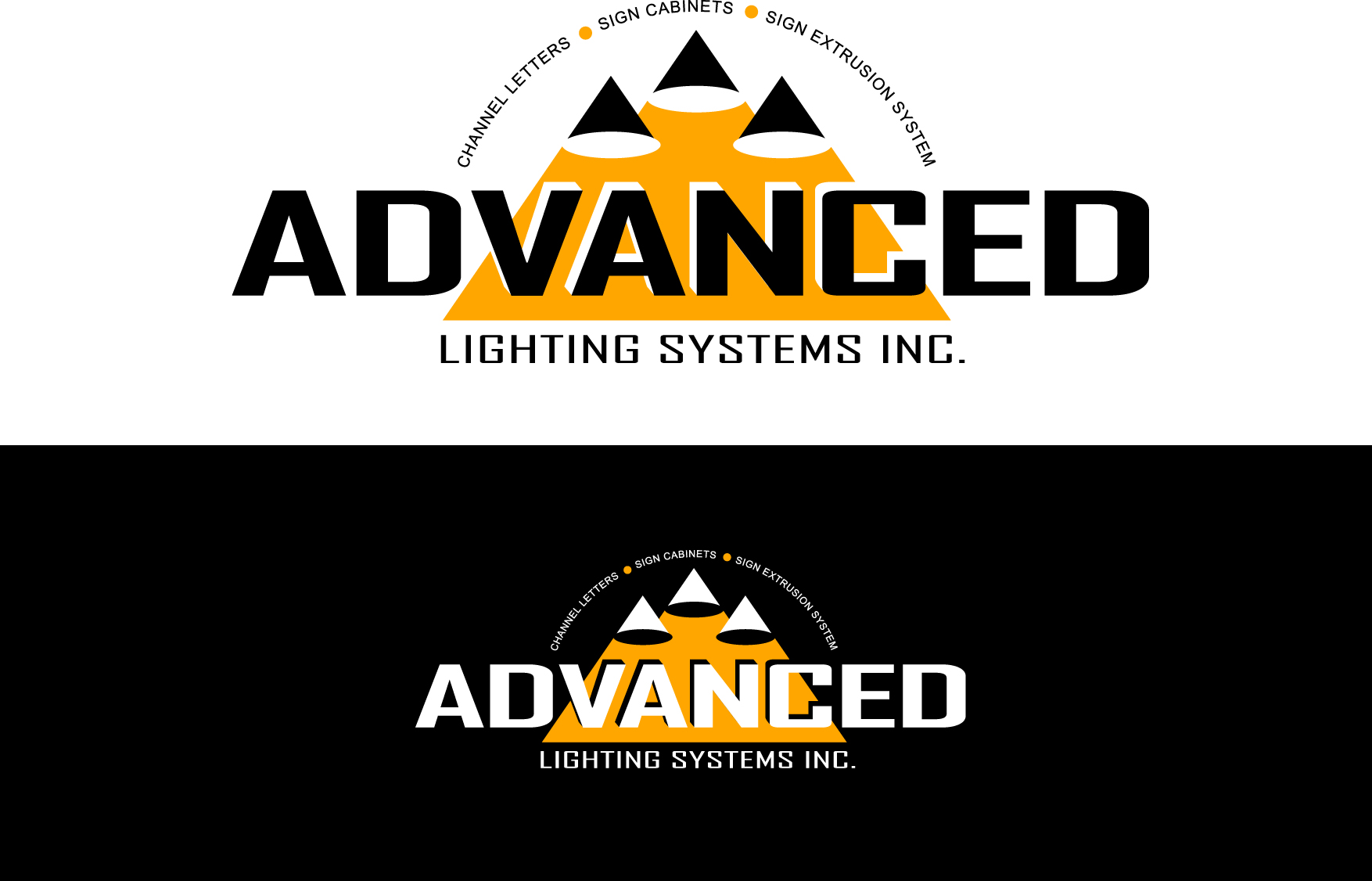 Logo Design by Wilfredo Mendoza - Entry No. 171 in the Logo Design Contest New Logo Design Needed for  Company Advanced Lighting Systems Inc..