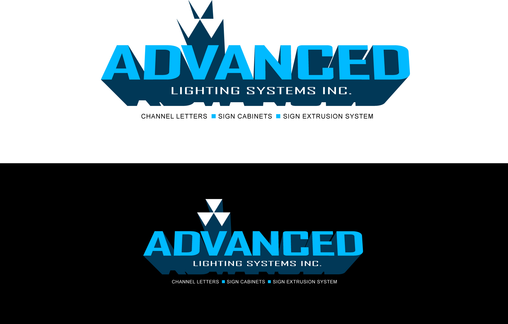 Logo Design by Wilfredo Mendoza - Entry No. 172 in the Logo Design Contest New Logo Design Needed for  Company Advanced Lighting Systems Inc..