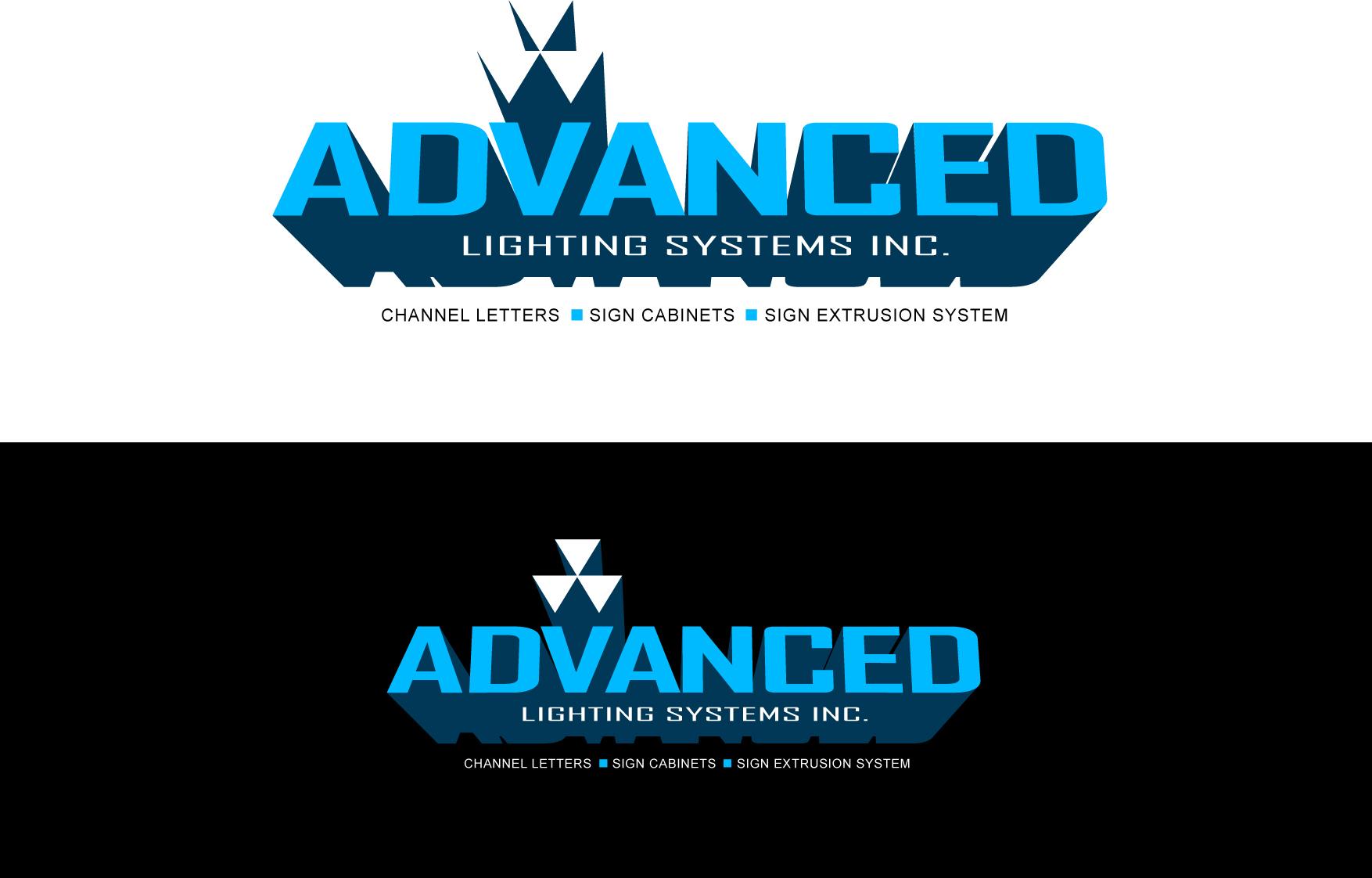 Logo Design by Wilfredo Mendoza - Entry No. 172 in the Logo Design Contest New Logo Design Needed for  Company Advanced Lighting Systems Inc..