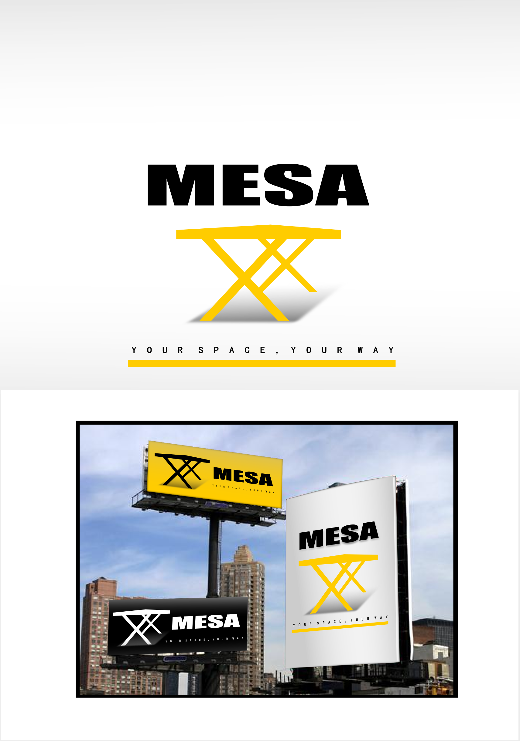 Logo Design by whoosef - Entry No. 126 in the Logo Design Contest Logo Design for Mesa.