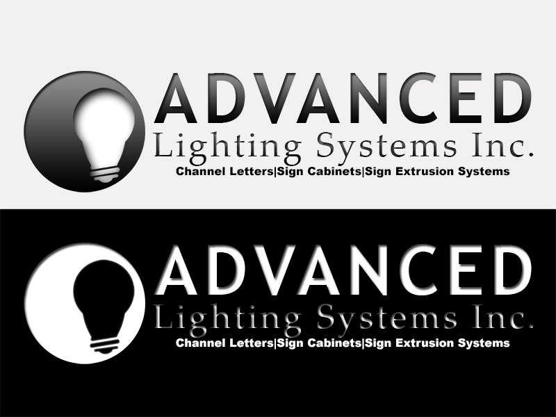 Logo Design by Mythos Designs - Entry No. 174 in the Logo Design Contest New Logo Design Needed for  Company Advanced Lighting Systems Inc..