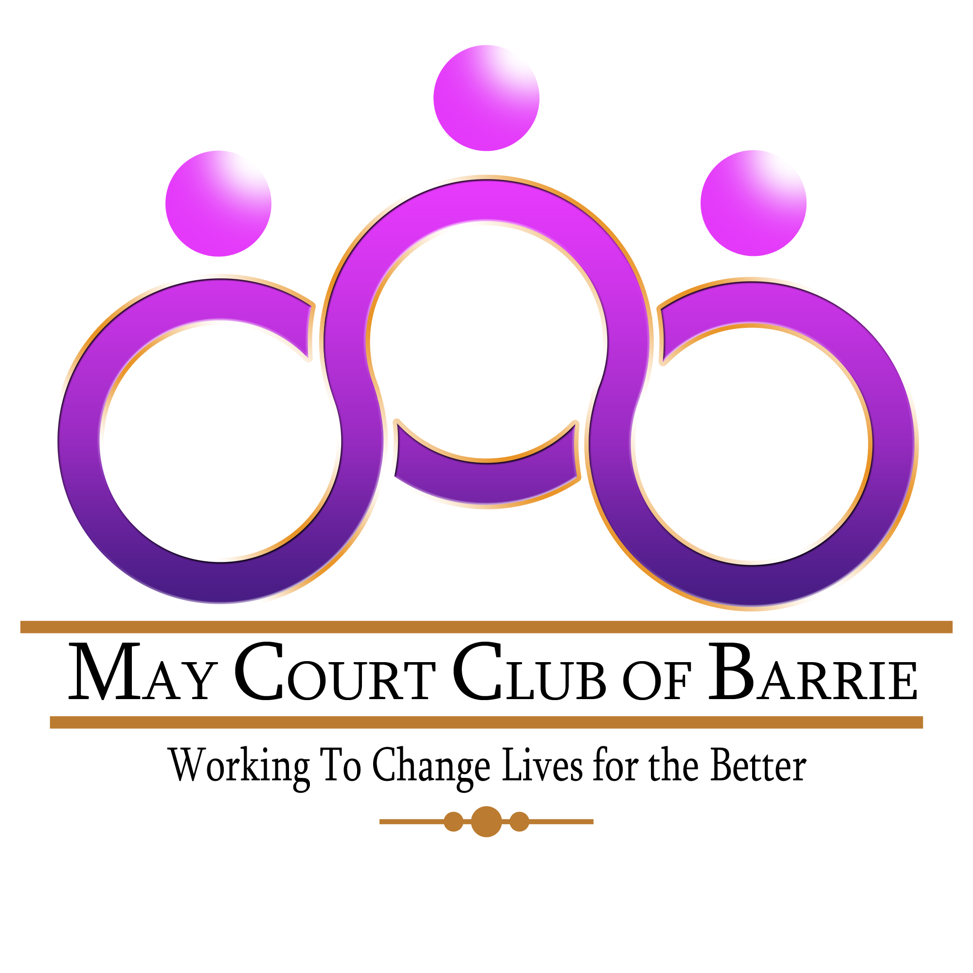 Logo Design by Ervin Beñez - Entry No. 21 in the Logo Design Contest New Logo Design for MAY COURT CLUB OF BARRIE.