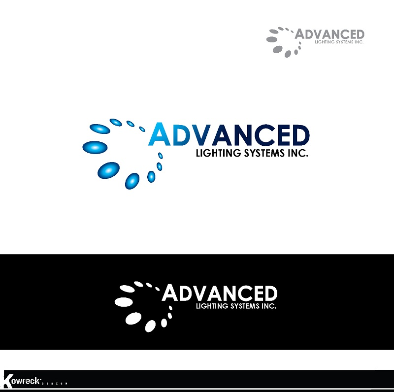 Logo Design by kowreck - Entry No. 176 in the Logo Design Contest New Logo Design Needed for  Company Advanced Lighting Systems Inc..