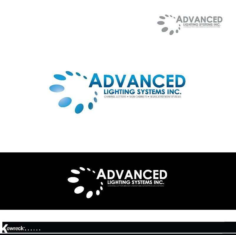Logo Design by kowreck - Entry No. 178 in the Logo Design Contest New Logo Design Needed for  Company Advanced Lighting Systems Inc..