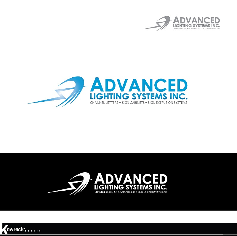 Logo Design by kowreck - Entry No. 179 in the Logo Design Contest New Logo Design Needed for  Company Advanced Lighting Systems Inc..