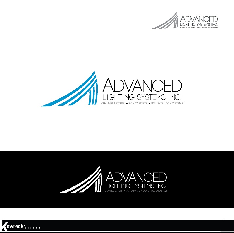 Logo Design by kowreck - Entry No. 181 in the Logo Design Contest New Logo Design Needed for  Company Advanced Lighting Systems Inc..