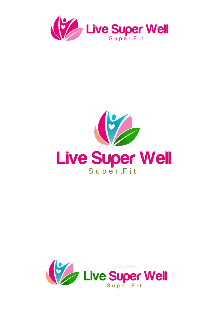 Logo Design by Private User - Entry No. 29 in the Logo Design Contest Unique Logo Design Wanted for Live Super Well.