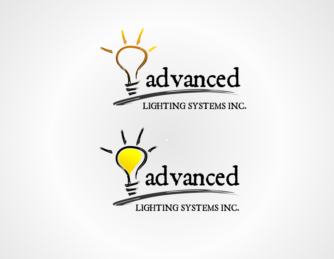Logo Design by edwin123 - Entry No. 184 in the Logo Design Contest New Logo Design Needed for  Company Advanced Lighting Systems Inc..