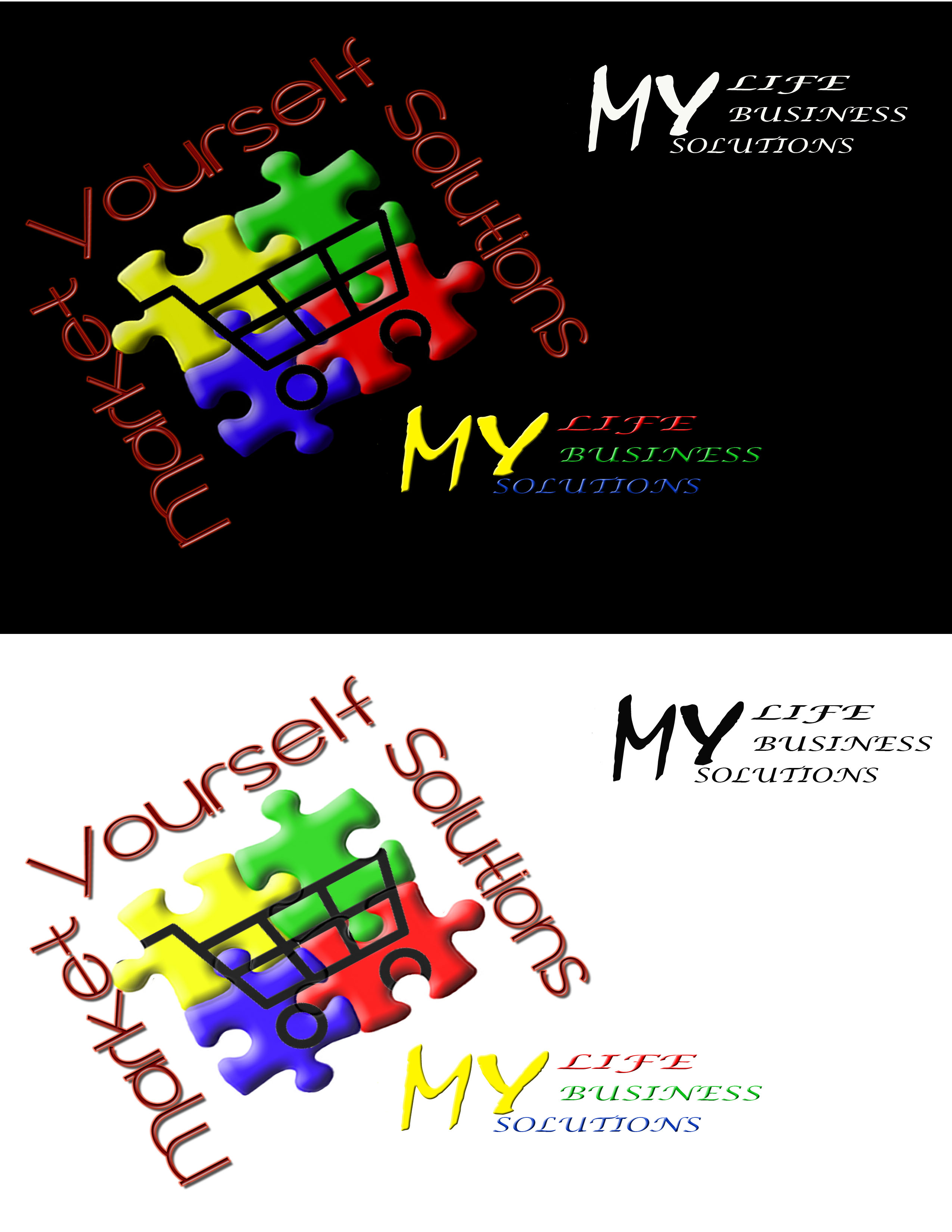 Logo Design by Arqui ACOSTA - Entry No. 63 in the Logo Design Contest Fun Logo Design for Market Yourself Solutions.