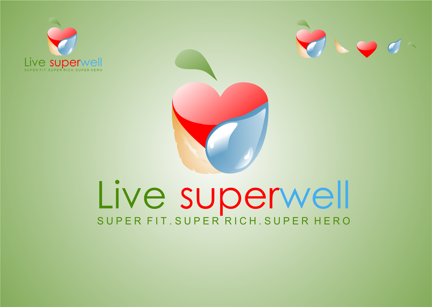 Logo Design by Private User - Entry No. 32 in the Logo Design Contest Unique Logo Design Wanted for Live Super Well.