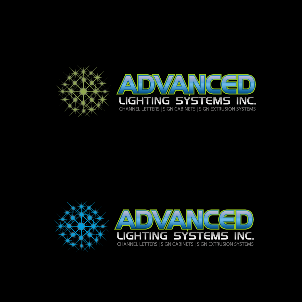 Logo Design by rockin - Entry No. 187 in the Logo Design Contest New Logo Design Needed for  Company Advanced Lighting Systems Inc..
