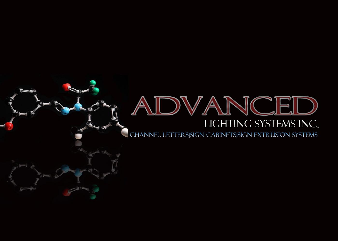 Logo Design by DOUMA AMINE - Entry No. 196 in the Logo Design Contest New Logo Design Needed for  Company Advanced Lighting Systems Inc..