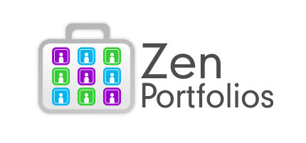 Logo Design by Roshan Maharjan - Entry No. 5 in the Logo Design Contest New Logo Design for ZEN Portfolios.