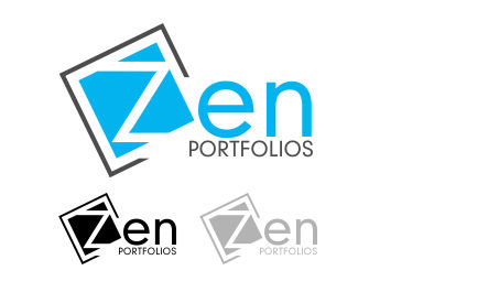 Logo Design by Roshan Maharjan - Entry No. 6 in the Logo Design Contest New Logo Design for ZEN Portfolios.