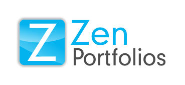Logo Design by Roshan Maharjan - Entry No. 7 in the Logo Design Contest New Logo Design for ZEN Portfolios.