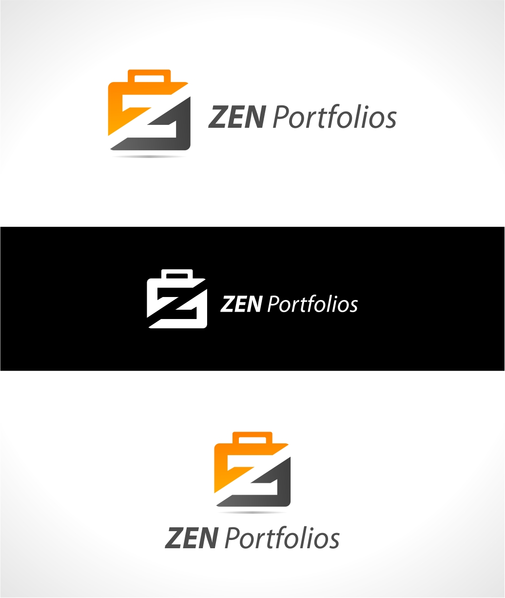 Logo Design by haidu - Entry No. 14 in the Logo Design Contest New Logo Design for ZEN Portfolios.