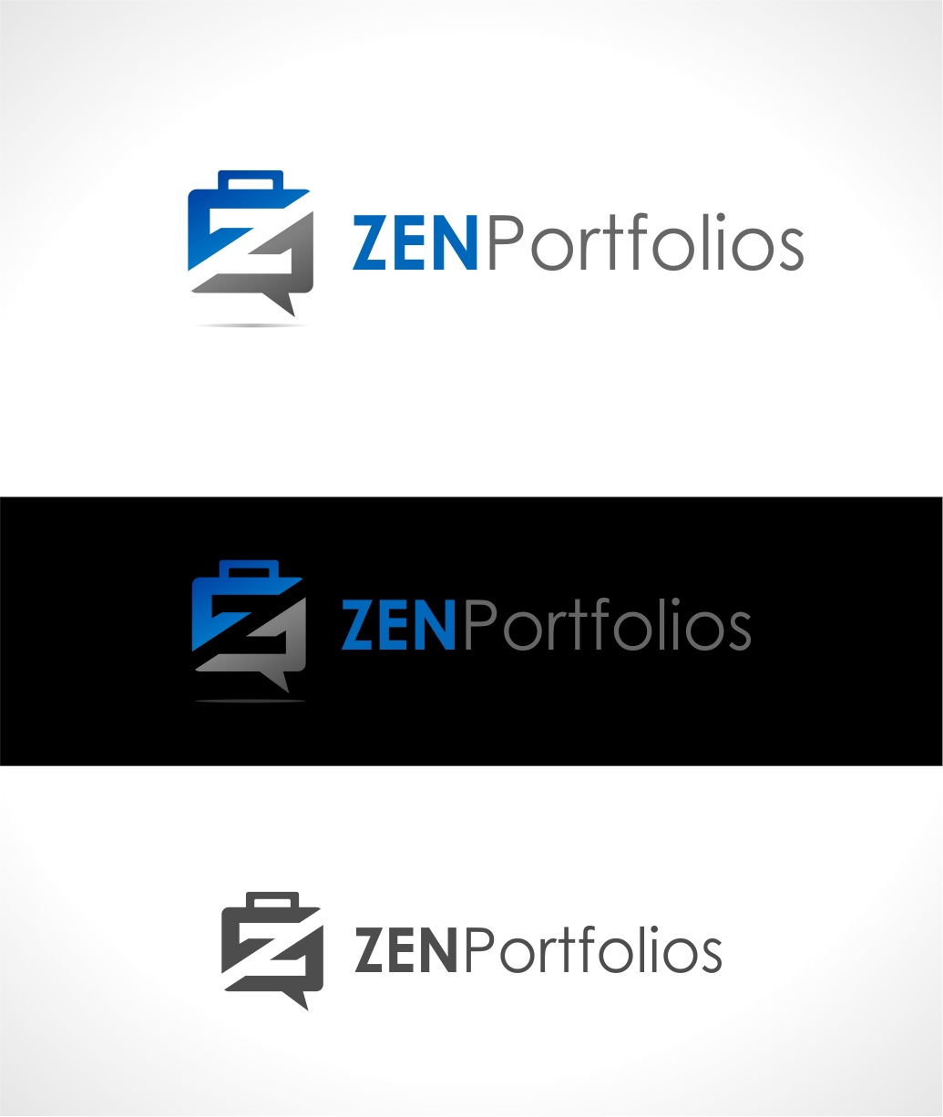 Logo Design by haidu - Entry No. 16 in the Logo Design Contest New Logo Design for ZEN Portfolios.
