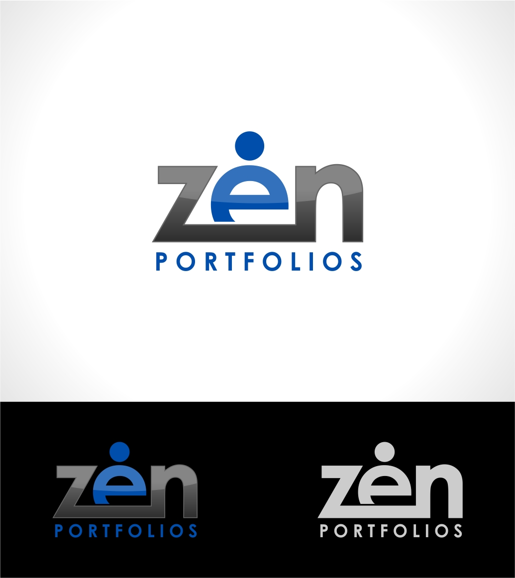 Logo Design by haidu - Entry No. 18 in the Logo Design Contest New Logo Design for ZEN Portfolios.