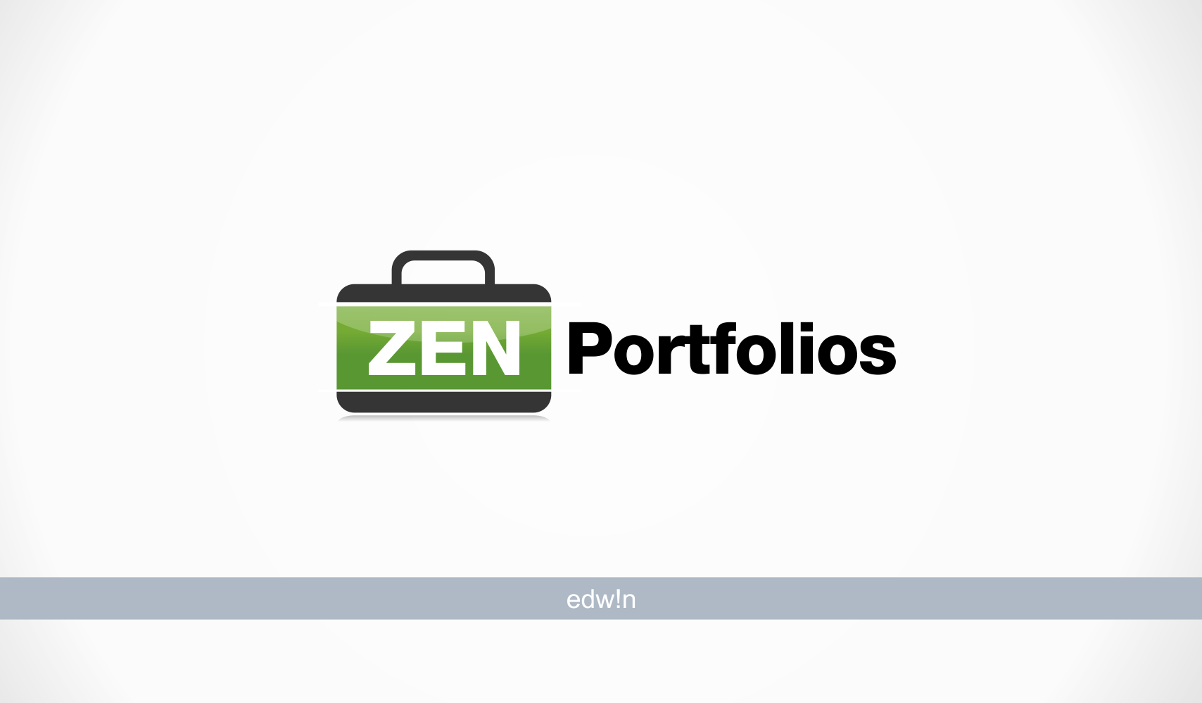 Logo Design by edwin123 - Entry No. 19 in the Logo Design Contest New Logo Design for ZEN Portfolios.