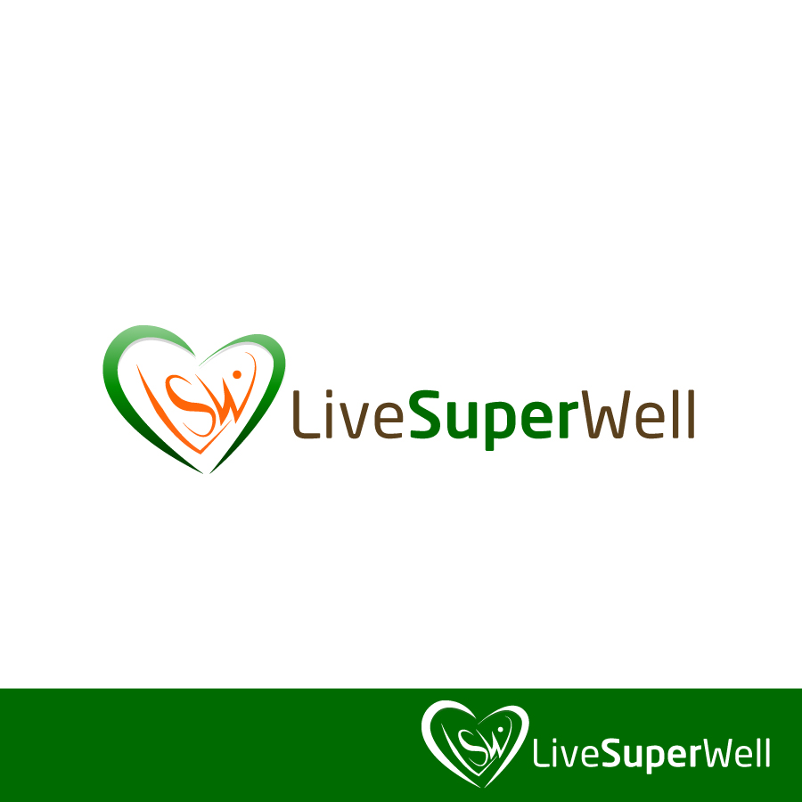Logo Design by Edward Goodwin - Entry No. 40 in the Logo Design Contest Unique Logo Design Wanted for Live Super Well.