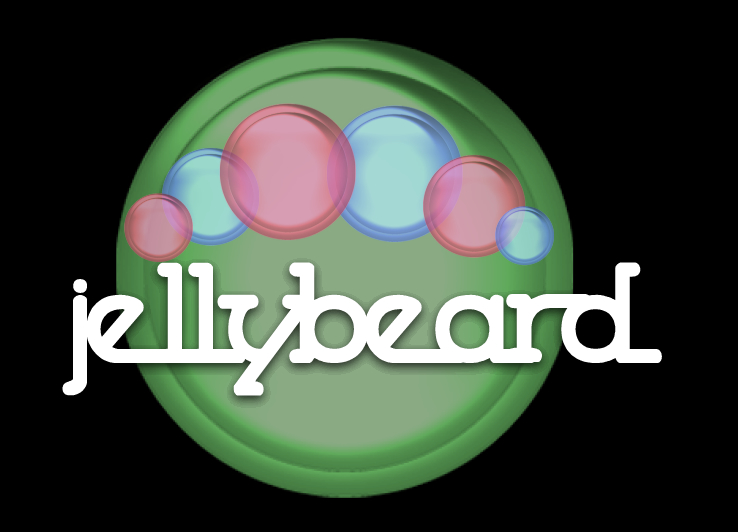 Logo Design by Barry Hodkinson - Entry No. 3 in the Logo Design Contest jellybeard Logo Design.