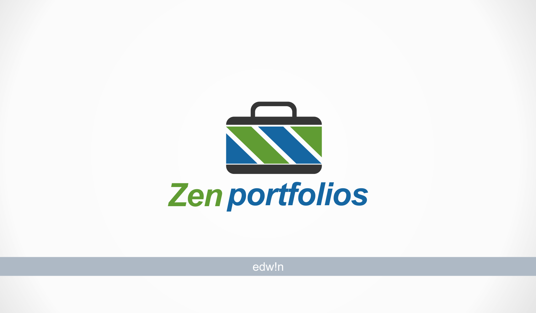 Logo Design by edwin123 - Entry No. 27 in the Logo Design Contest New Logo Design for ZEN Portfolios.