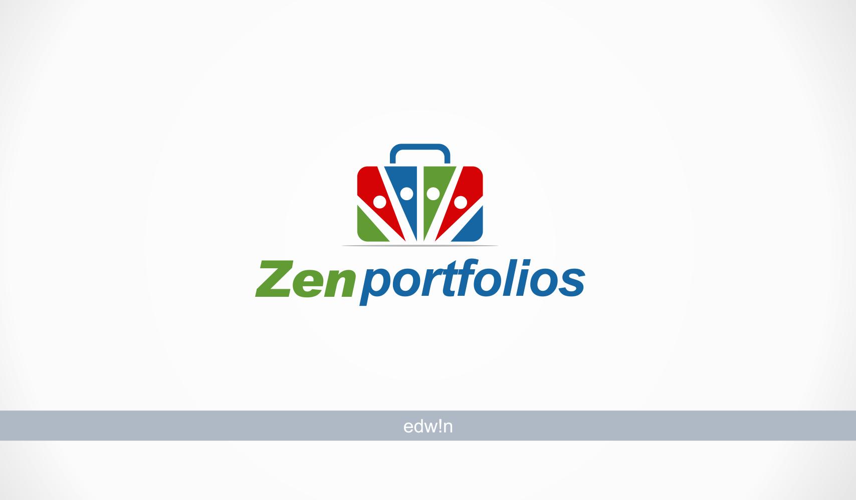 Logo Design by edwin123 - Entry No. 31 in the Logo Design Contest New Logo Design for ZEN Portfolios.