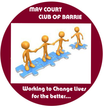 Logo Design by Vahini Chittella - Entry No. 26 in the Logo Design Contest New Logo Design for MAY COURT CLUB OF BARRIE.