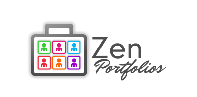 Logo Design by Roshan Maharjan - Entry No. 35 in the Logo Design Contest New Logo Design for ZEN Portfolios.