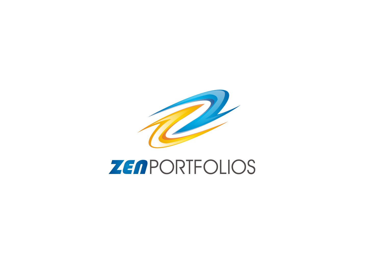 Logo Design by yanxsant - Entry No. 37 in the Logo Design Contest New Logo Design for ZEN Portfolios.