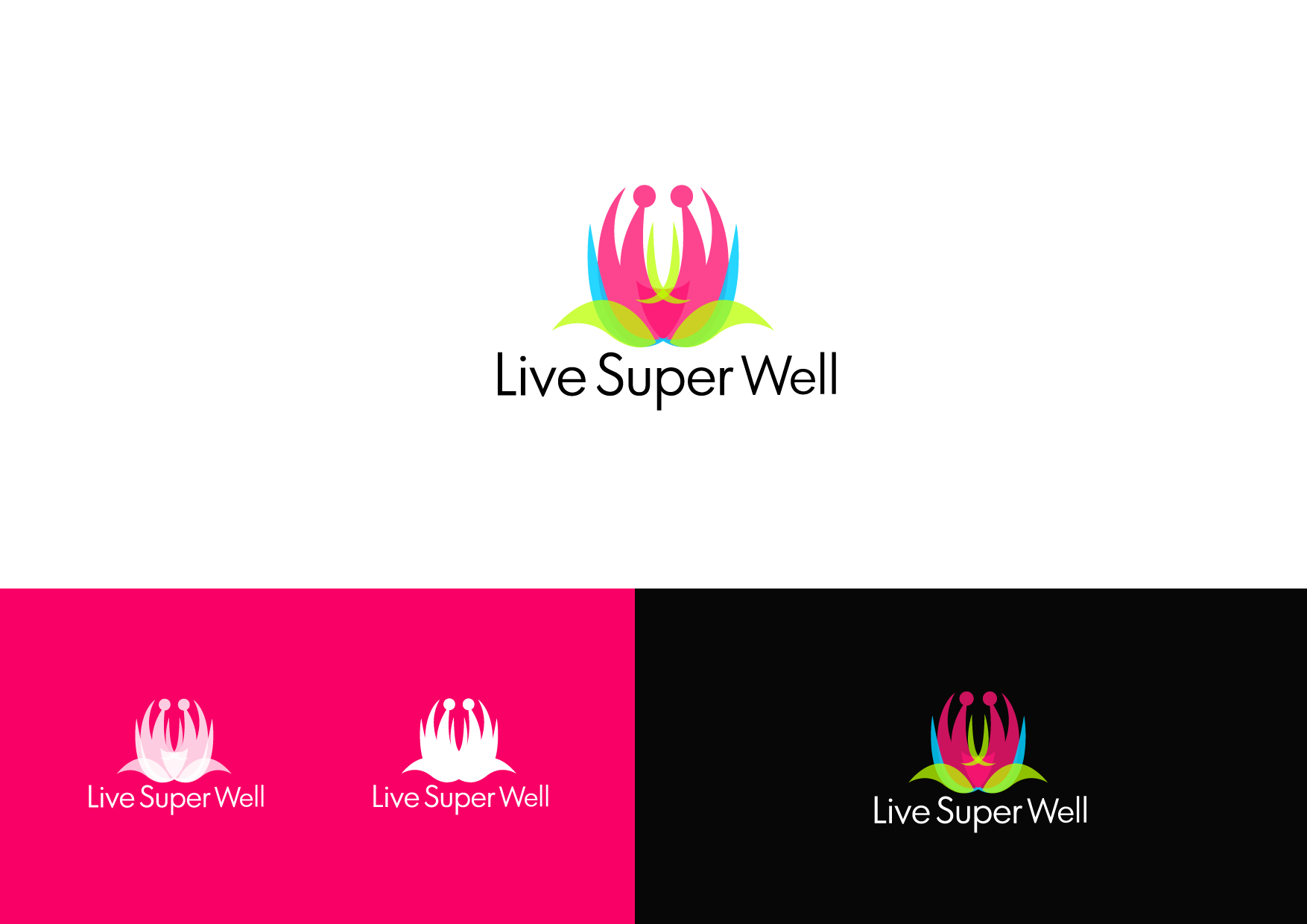 Logo Design by Osi Indra - Entry No. 41 in the Logo Design Contest Unique Logo Design Wanted for Live Super Well.