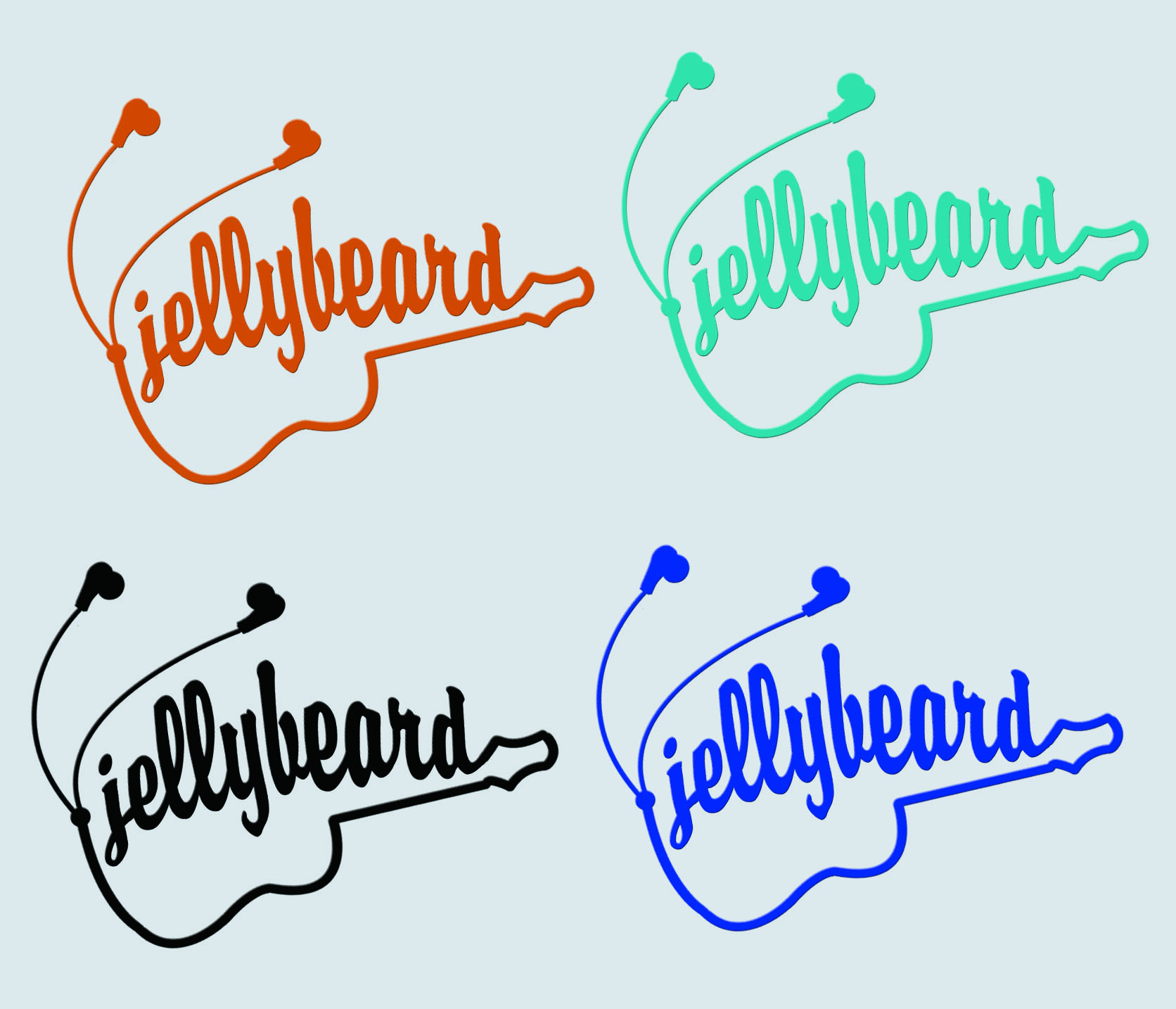Logo Design by Arqui ACOSTA - Entry No. 8 in the Logo Design Contest jellybeard Logo Design.