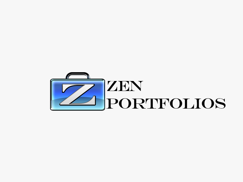 Logo Design by Mythos Designs - Entry No. 44 in the Logo Design Contest New Logo Design for ZEN Portfolios.