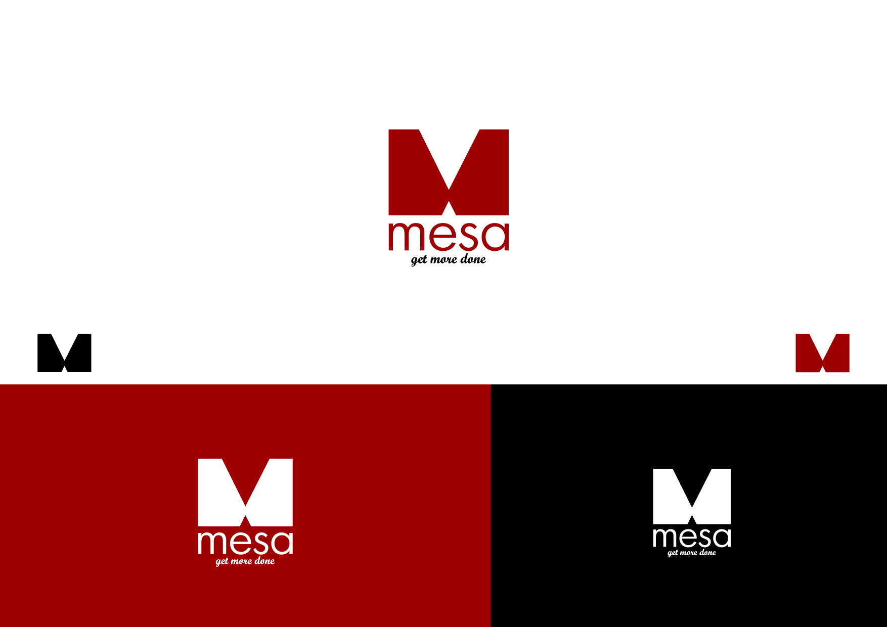 Logo Design by Osi Indra - Entry No. 191 in the Logo Design Contest Logo Design for Mesa.