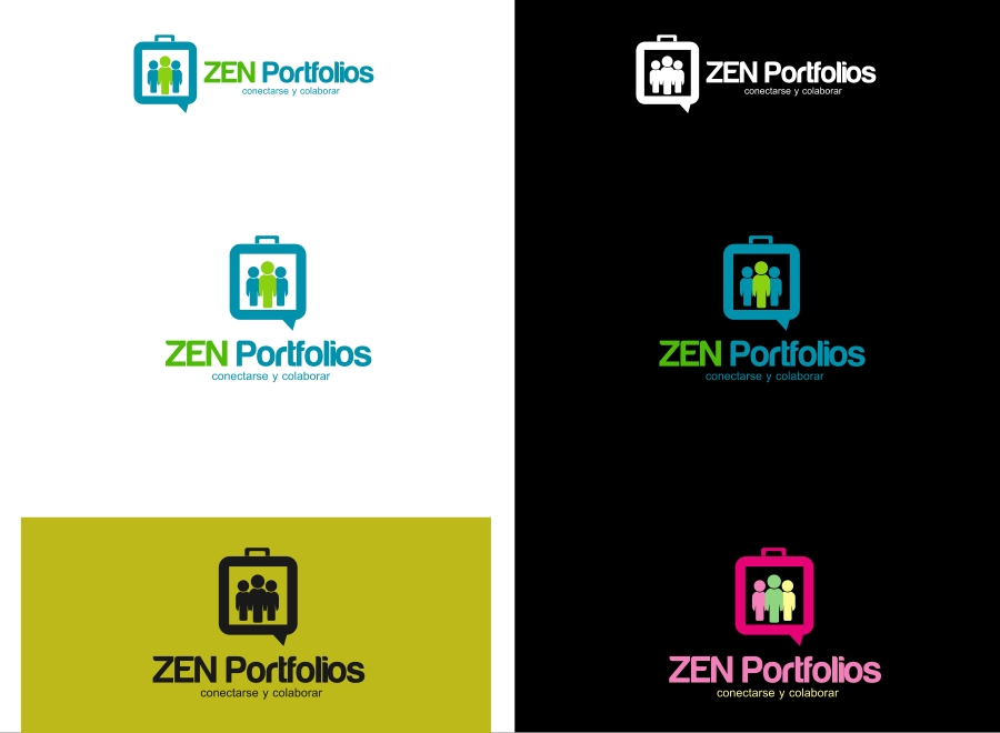 Logo Design by Private User - Entry No. 47 in the Logo Design Contest New Logo Design for ZEN Portfolios.