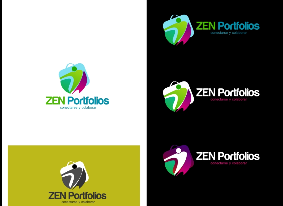 Logo Design by Private User - Entry No. 50 in the Logo Design Contest New Logo Design for ZEN Portfolios.
