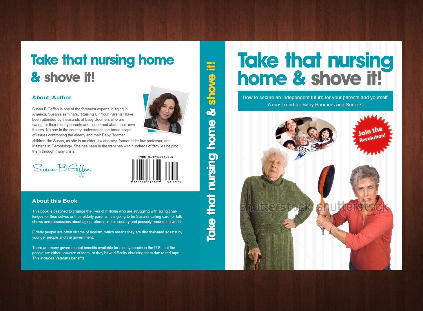 Book cover design contests take that nursing home and shove it book cover design by emad a zyed entry no 49 in the book cover solutioingenieria Images