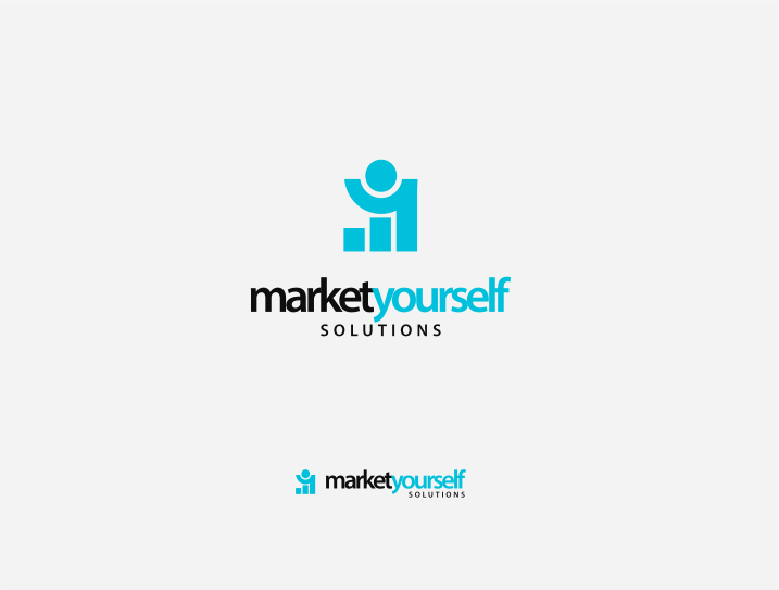 Logo Design by Jorge Sardon - Entry No. 75 in the Logo Design Contest Fun Logo Design for Market Yourself Solutions.