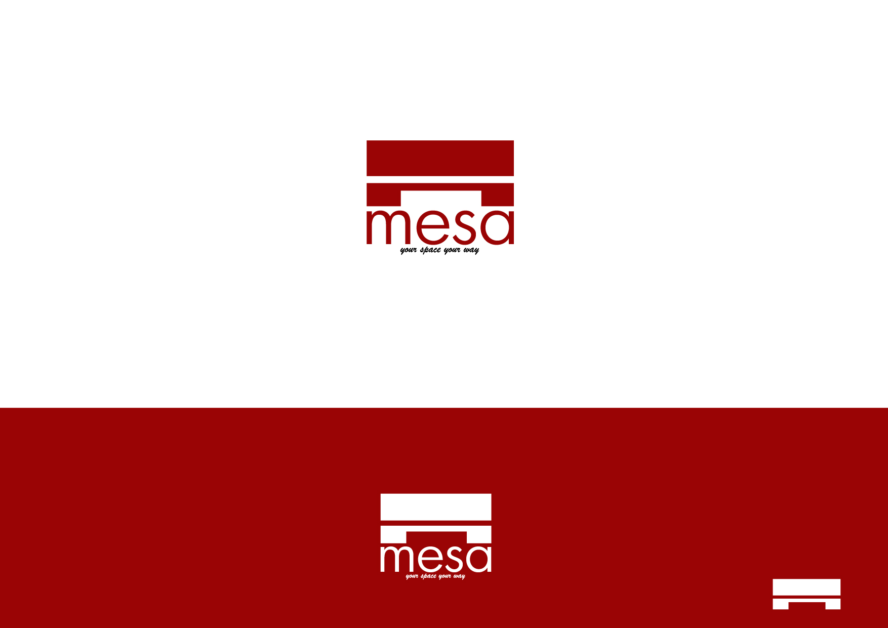 Logo Design by Osi Indra - Entry No. 195 in the Logo Design Contest Logo Design for Mesa.