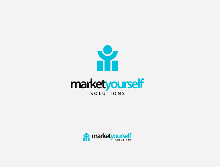 Logo Design by Jorge Sardon - Entry No. 78 in the Logo Design Contest Fun Logo Design for Market Yourself Solutions.